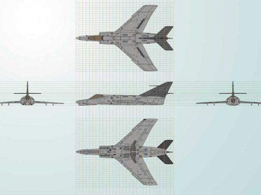 Planimetria Avión